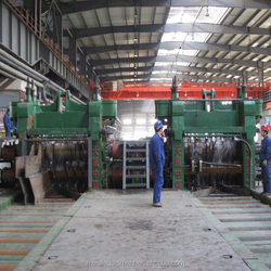 rough three-roll rolling machine for section rolling mill