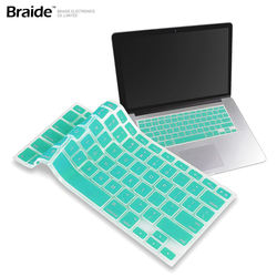 Silicone Keyboard Cover Protector Skin for Macbook Pro MAC 13 15 Air 13 Soft keyboard stickers 12 Colors