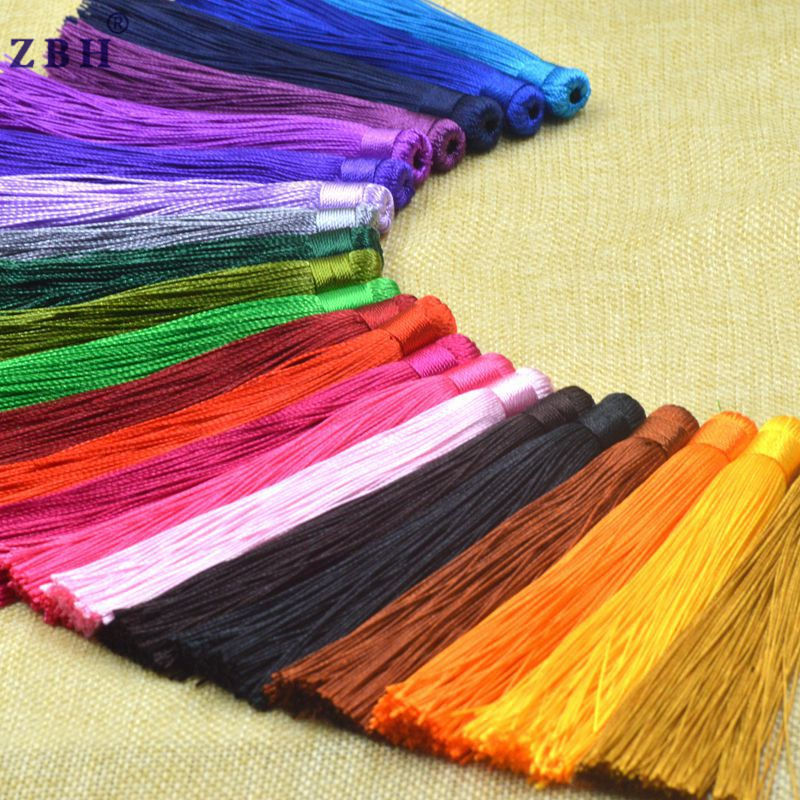 Fashion decoration hot sell cheap polyester color wholesale tassel