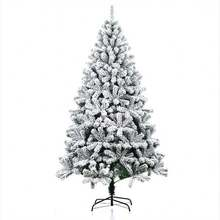 China sale cheap Xmas Craft  different types falling snow christmas tree