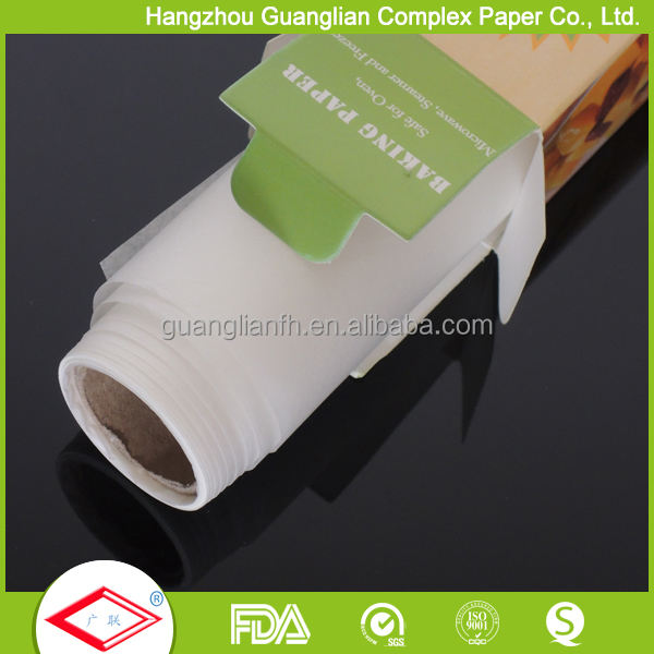 Silicone Coated Mini 15cm Width Baking Paper in Roll