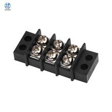 KF49 Double Row barrier terminal block  High temperature screw power barrier terminal block 9.5mm pitch ST49