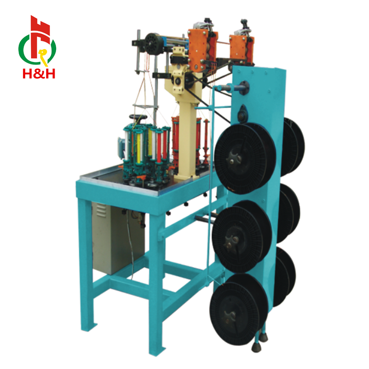 The hottest sell 3 spindle suture line braiding machine used for medical sewing line