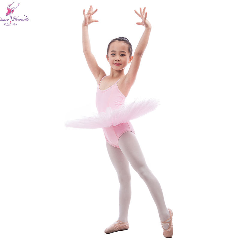 Pale Pink Ballet Dance Tutu for Girls Dance Show Costumes 17050