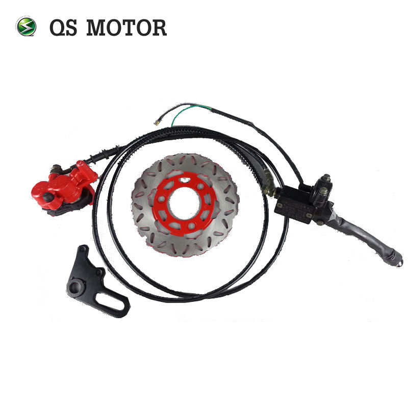 Motorcycle disc brake kit for electric scooter front wheel disc brake