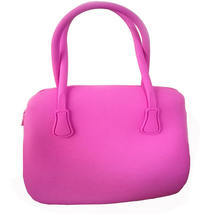 Low MOQ Top Quality Summer Beach Fashion Design Silicone Handbag Women