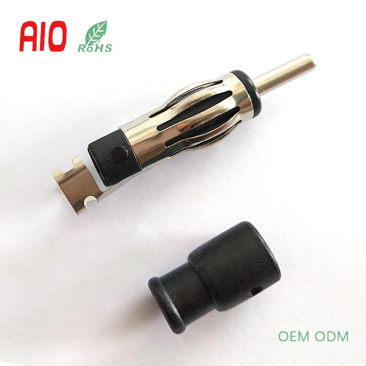 Car Radio Antenna RF Din 41585 Solder Male Plug Connector for RG59 Coaxial Cable