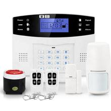 10 years china Professional manufacturer Lcd Display Smart Home Guard security wireless GSM Alarm System PST-GA997CQN