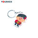 2019 Vograce new design best selling keychain acrylic keycharm metal keyring from china custom anime acrylic keychain