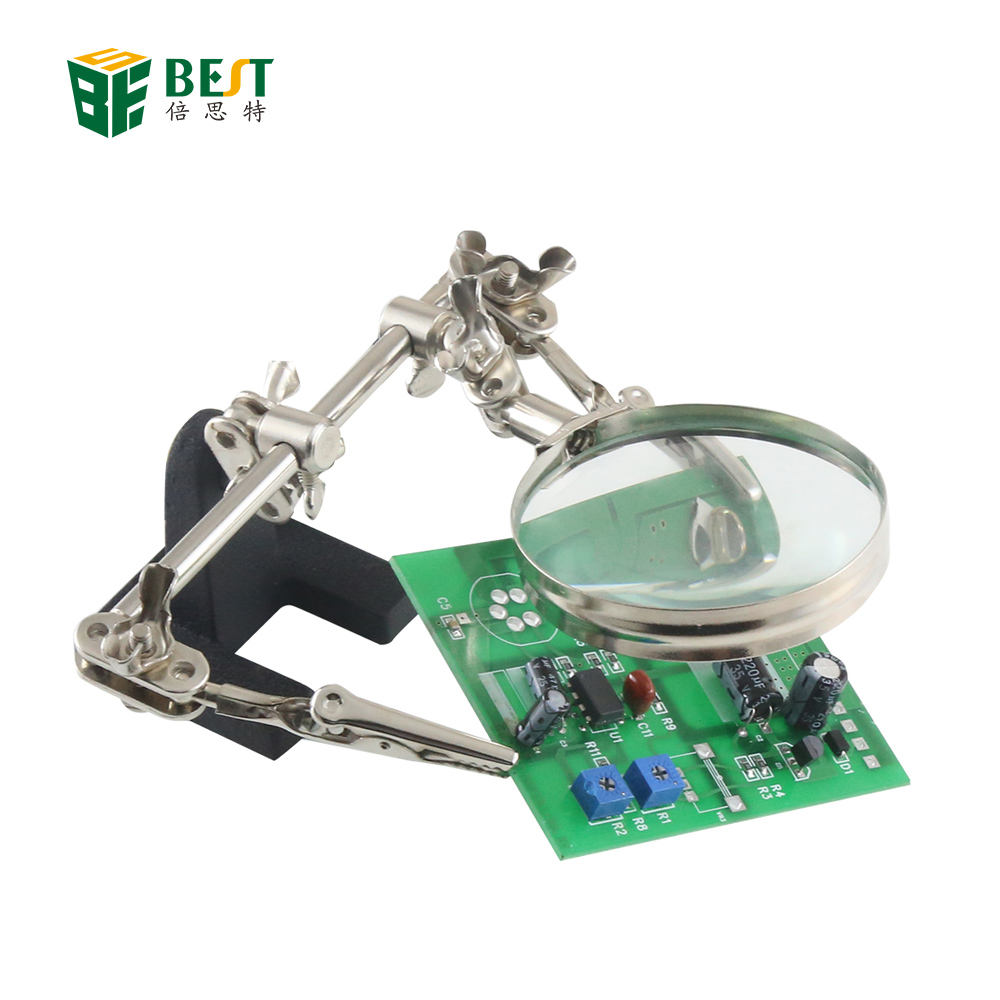 Magnifier eye glasses magnifying soldering third hand