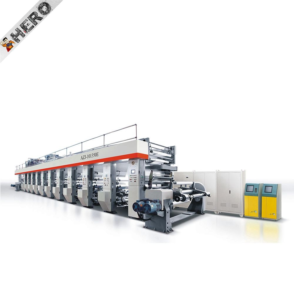 The newest Manufacturer 4 colour flexo printing machine paper bag making machine with flexo printing