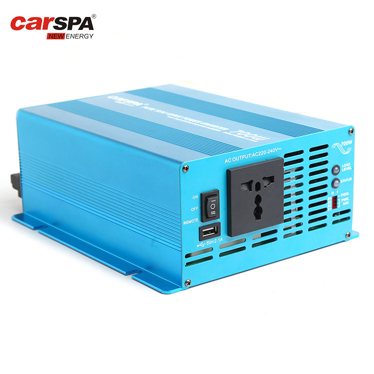 Power Inverter 700w Pure Wave cotek 110V/120V/220V/230V/240V AC