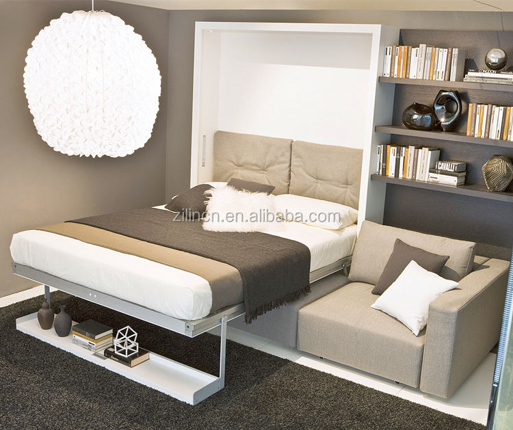 High quality space saving furniture sofa wall bed murphy bed with sofa