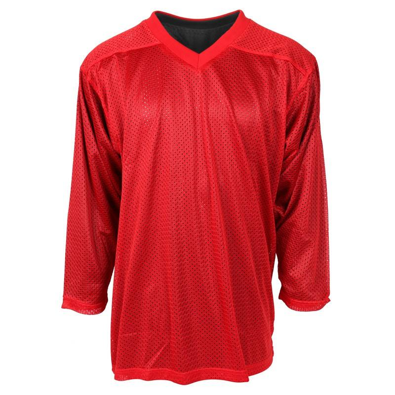 100% Polyester Reversible Popular blank practice ice hockey jersey