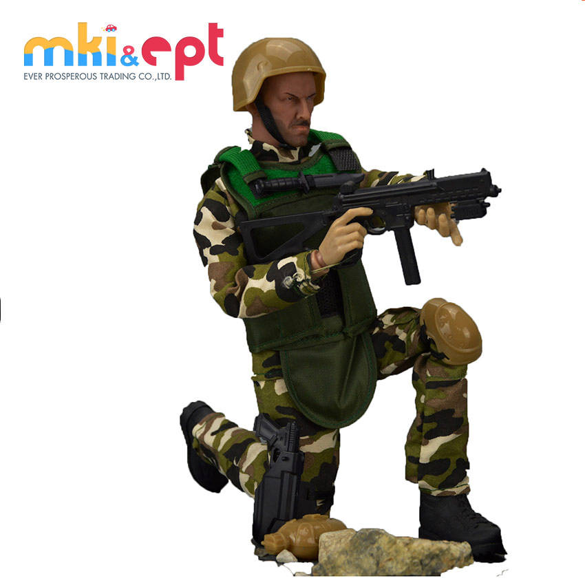 2018 Brand New Soft PVC Soldier Toy Action Figure For Collection