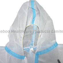 Disposable safety Waterproof coverall
