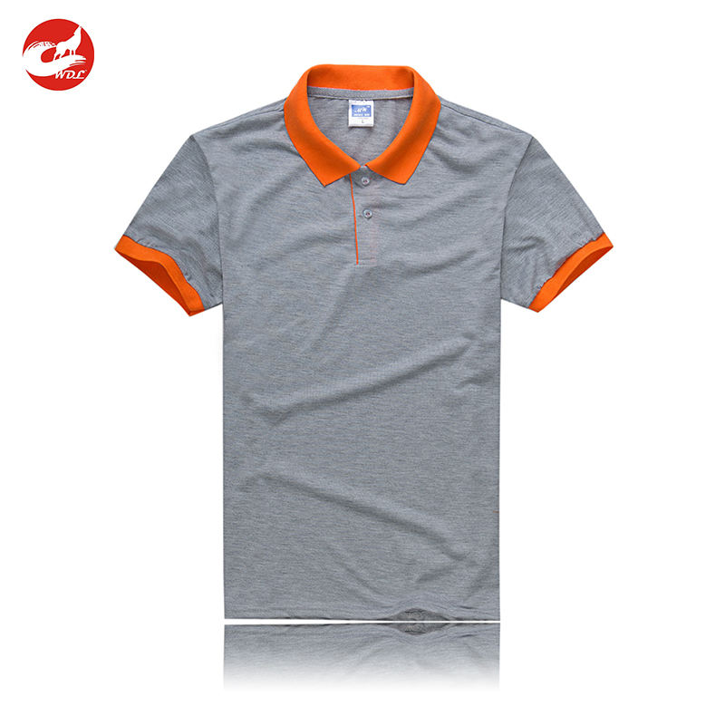 Custom Logo Printing Clothing Golf Dri Fit Mens Polo Shirts