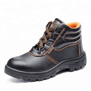 Wholesale cheap price industrial uniform boots safety shoes with steel toe