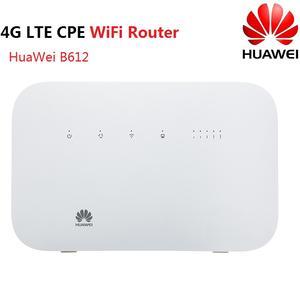 Huawei B612 B612s 25d 3g 4g lte cat6 cpe routeur sans fil routeur domestique avec 4 ports lan neuf et débloqué