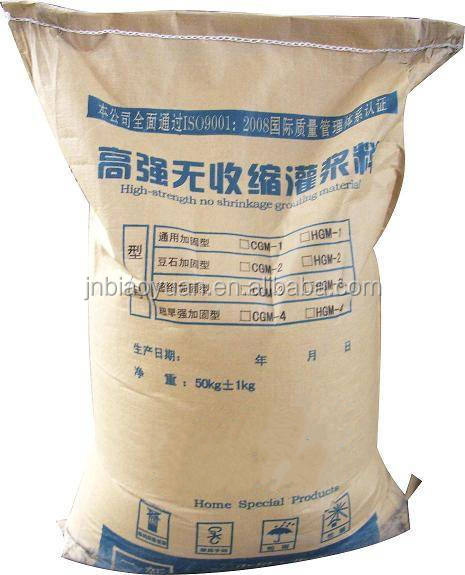winter Post-tensioned prefabricated antifreezing early strength grouting materials