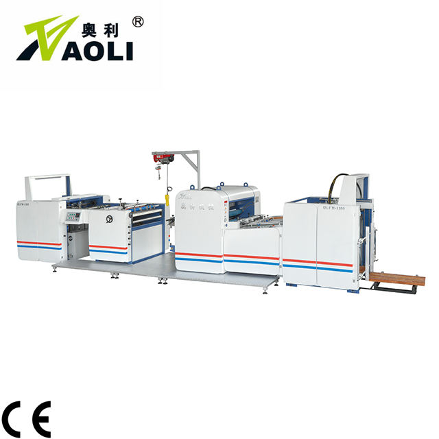 Factory Automatic thermal BOPP Film Laminator for Paper Sheet