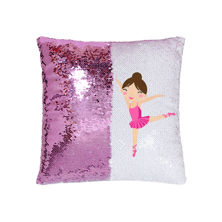 2019 HOT selling decorative mermaid sequin throw pillow