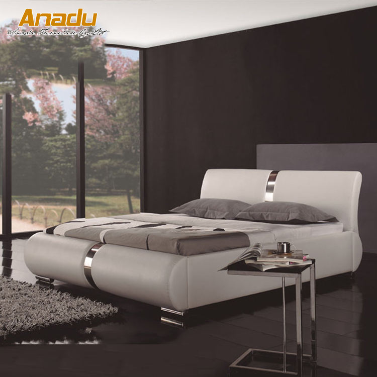 2017 new modern bedroom soft beds CC390W