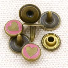 decorate metal rivet button for handbag shoes and clothes