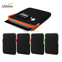 Hot selling for ipad neoprene zipper padding tablet case,neoprene sleeve case for ipad Pro
