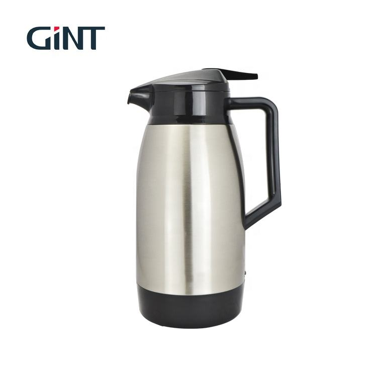 304 stainless steel 1L stainless arabica vacuum coffee flask thermos bottles glass refill