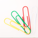 China factory Cheap colored mini large office paper clip plastic paper clip