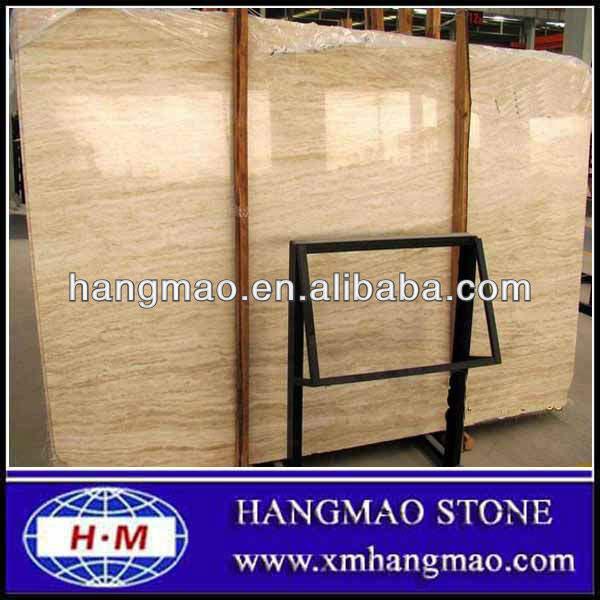 Importado de mármol, italiano romano losa de mármol <span class=keywords><strong>travertino</strong></span>