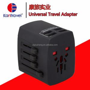 多機能変換プラグユニバーサル旅行アダプター4 usb用dc電化製品