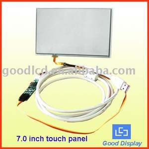 7 inch 4-wire touch screen for lcd display
