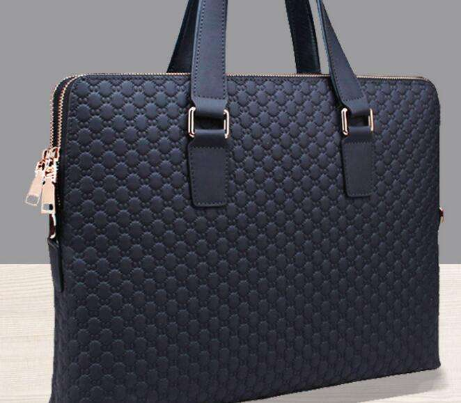 PU leather briefcase business bag briefcase 대 한 men