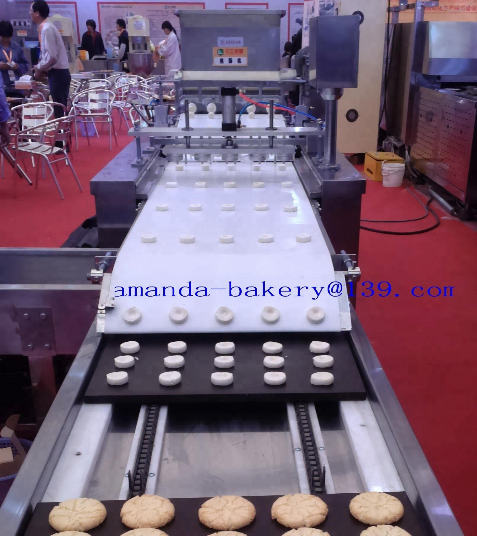 China made Taosu extruder crack cookie machine