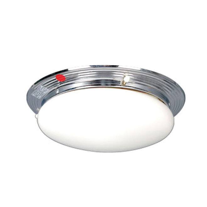 Marine round double-bulb incandescent ceiling light fitting fixture