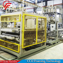 XPS Foamed Panel Extrusion Line, foam plate making machine, extruder plastic