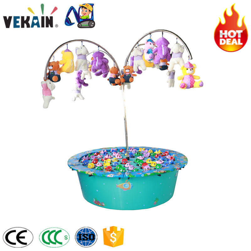 new products children amusement park indoor kids big fishing game machine