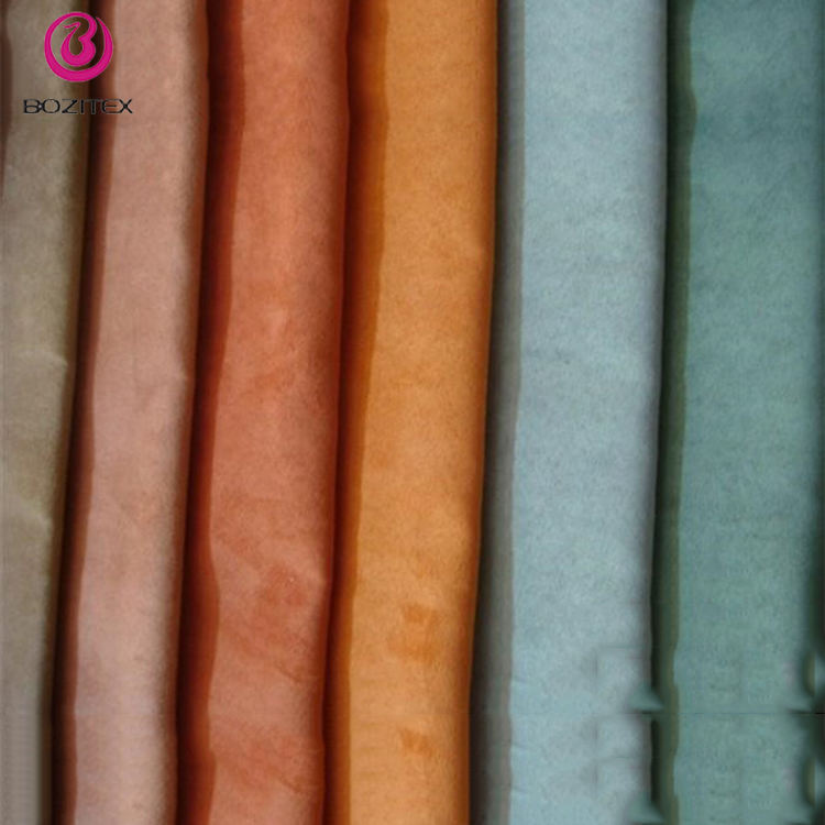 new test design polyester fabric microsuede waterproof
