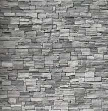 Natural Grey Cement Cultural Stone For Exterior Wall Decoration