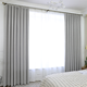 Hot sale high quality 100% Polyester window curtains blackout for living room