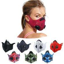 bike carbon air filter pollution mask adult rider anti pm2.5