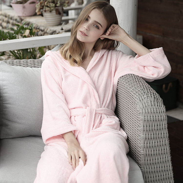 China Professional Manufacture Durable Using Low Price Women Bathrobe Bath Robe