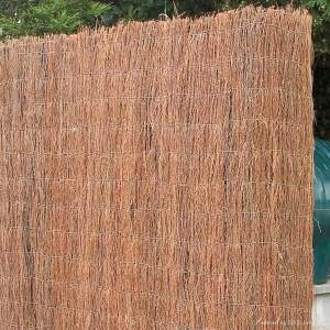 Dry decoration brushwood fencing