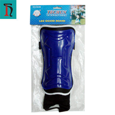 custom high quality hockey soccer shin guard with ankle support, sports protection support