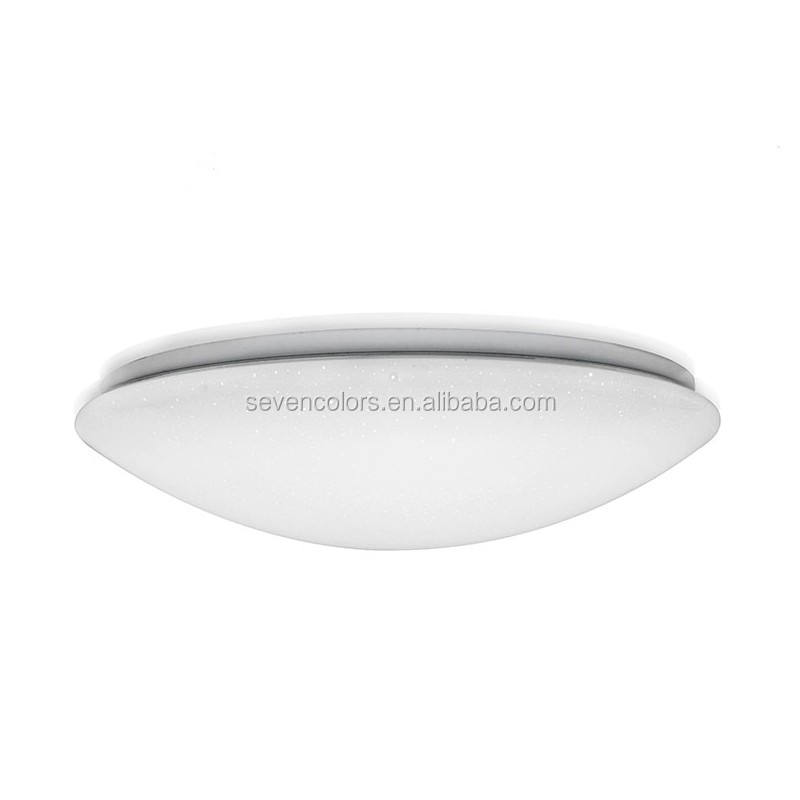 Oyster shape led ceiling lamp modern with milky cover modern led ceiling lamp