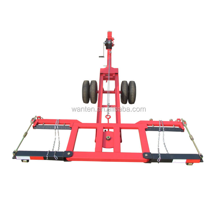 SMALL TOW DOLLY! car towing equipment / auto tow dolly for workshop
