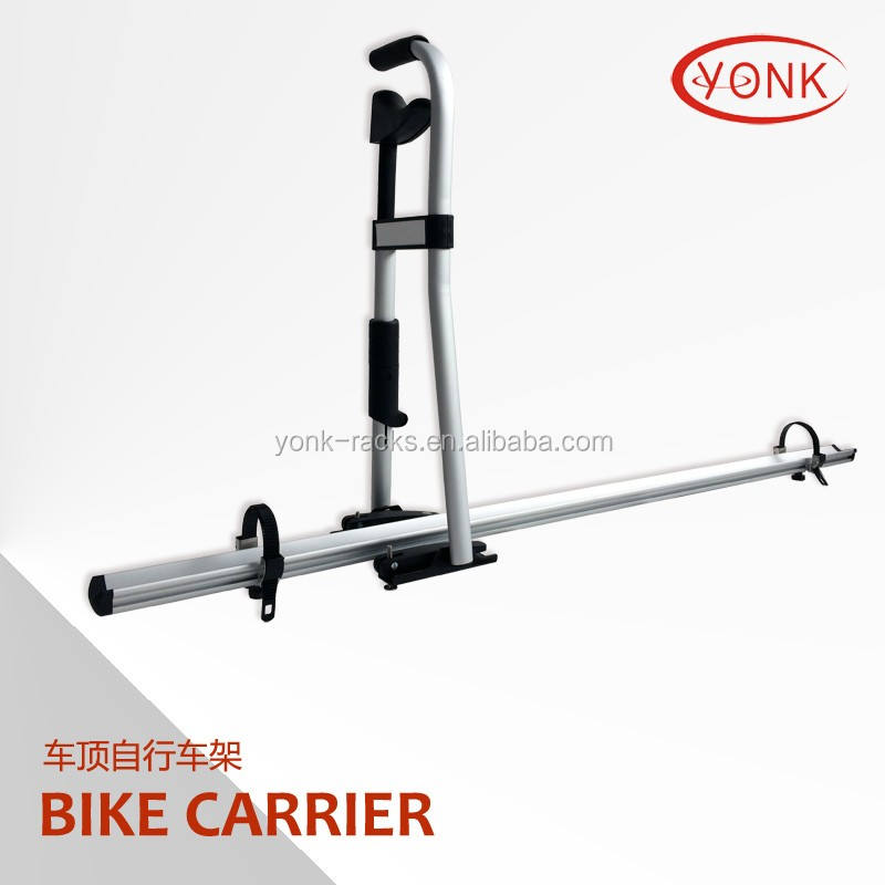 foldable bike rack for single bicycle car top roof rack