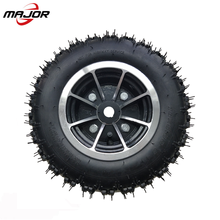 13 inch heavy duty pneumatic rubber wheel new design wheelchair wheel with aluminum 13x5.00-6